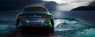 BMW Concept M8 Premiere am Märtin-Messestand der automobil 2019