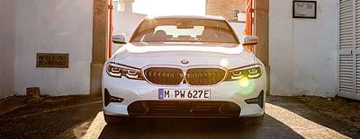 BMW 3er Premiere am Märtin-Messestand der automobil 2019