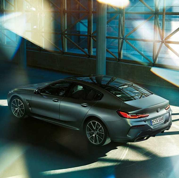 Das neue BMW 8er Gran Coupé im Autohaus Märtin