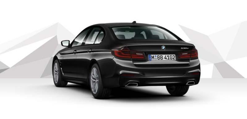 Märtin Hybrid-Offensiven Angebot BMW 530e iPerformance Limousine