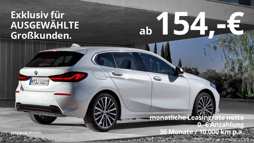 BMW 118i Grosskundenangebot von Autohaus Märtin