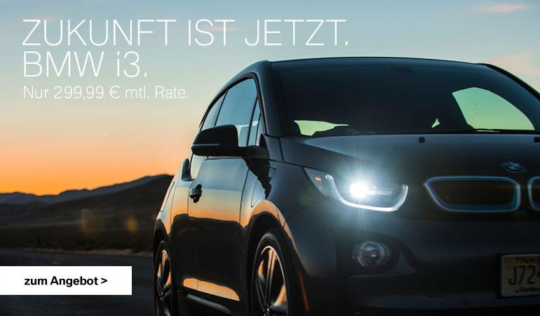 BMW i3 Angebot vom Autohaus Märtin