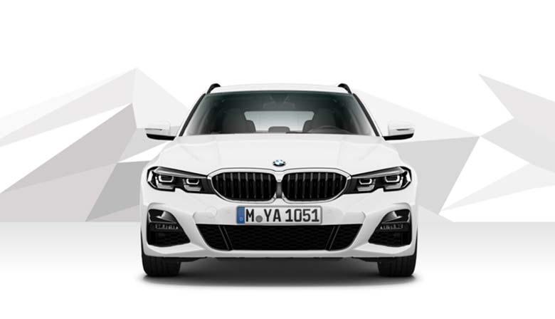 BMW 320d Touring Automobil-Messe Gewerbeangebot von Märtin
