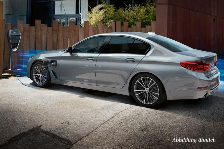 BMW 530e Limousine Automobil-Messe Gewerbeangebot von Märtin
