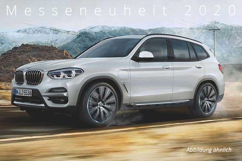 BMW X3 xDrive30e Automobil-Messe Gewerbeangebot von Märtin