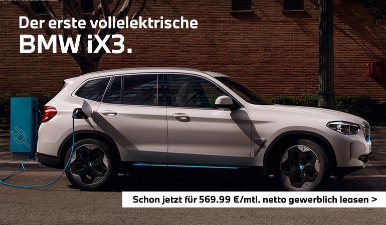 BMW iX3 Gewerbekundenangebot von Autohaus Märtin