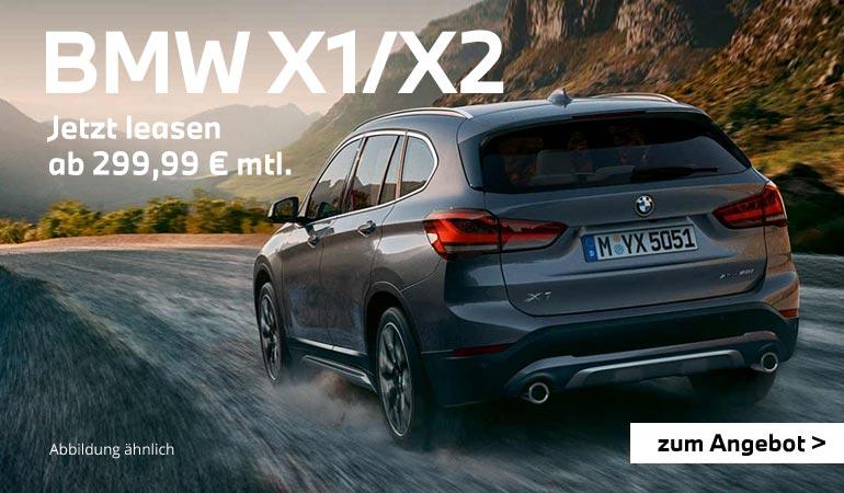 BMW X1 und X2 Angebote von Autohaus Märtin