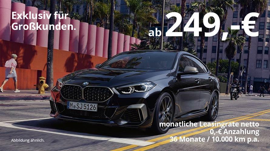 BMW 2er Gran Coupé Grosskundenangebot von Autohaus Märtin