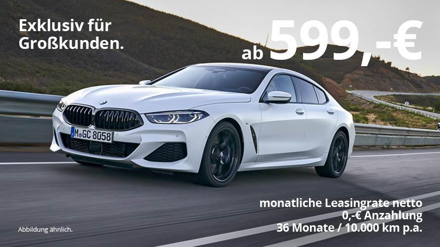 BMW 8er Gran Coupé Grosskundenangebot von Autohaus Märtin