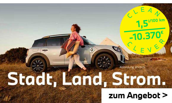 MINI Countryman Plug-In-Hybrid Angebot im Autohaus Märtin