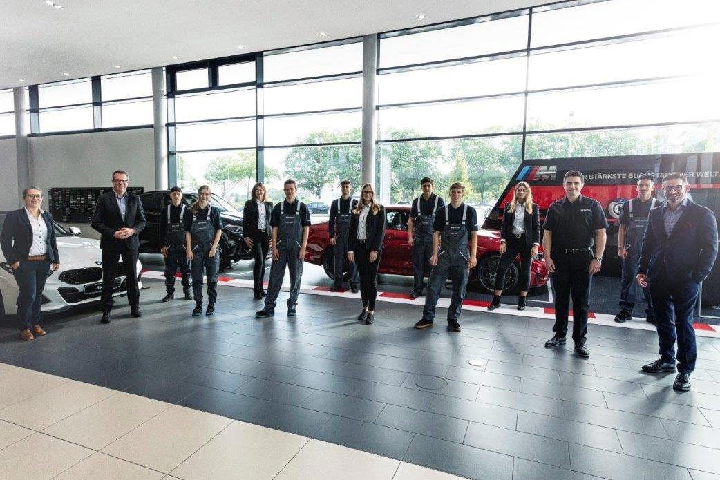 Azubi-Start 2020 im Autohaus Märtin