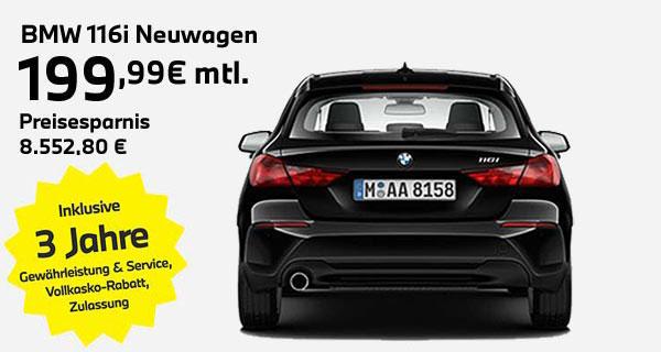 BMW 116i Leasingangebot