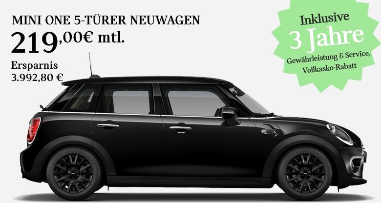 MINI One 5-Türer Blackyard Angebot