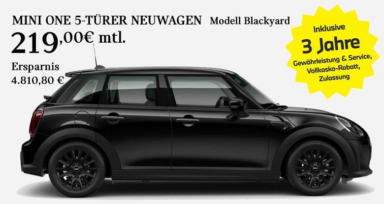 MINI One 5-Türer Blackyard
