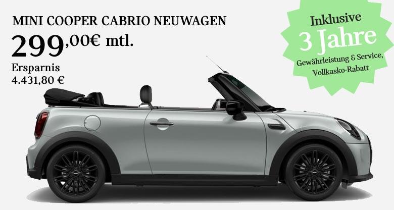 MINI Cooper Cabrio Angebot von Märtin