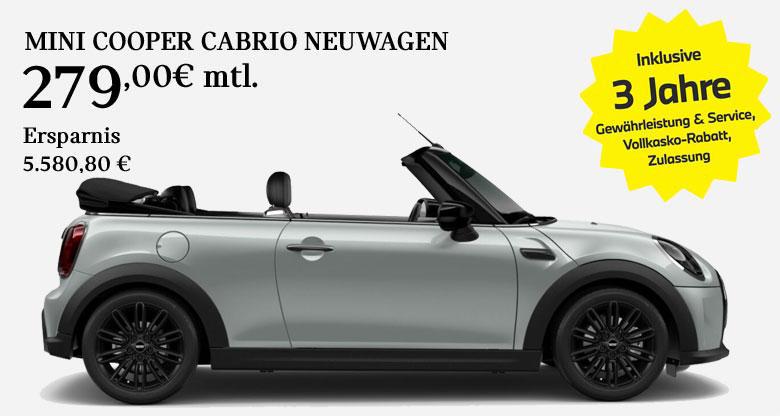 MINI Cooper Cabrio Angebot