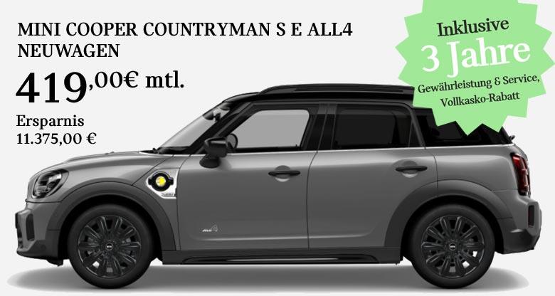 MINI Cooper Countryman S E All4 Angebot