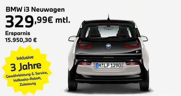 BMW i3 Leasingangebot