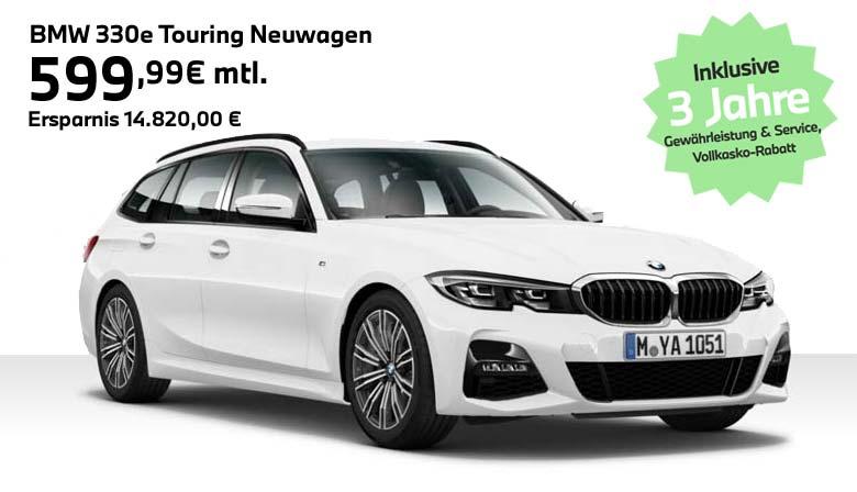 BMW 330e Touring Angebot von Autohaus Märtin