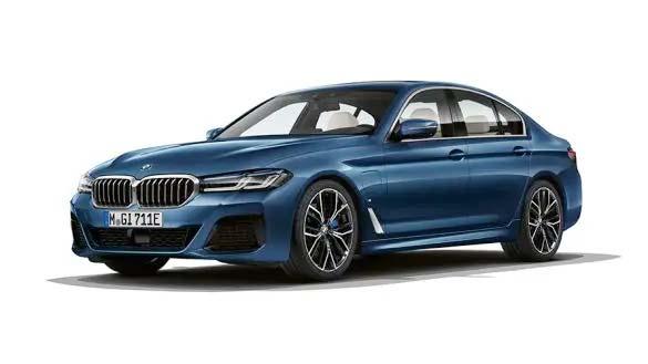 BMW 5er Plug-In-Hybrid im Autohaus Märtin