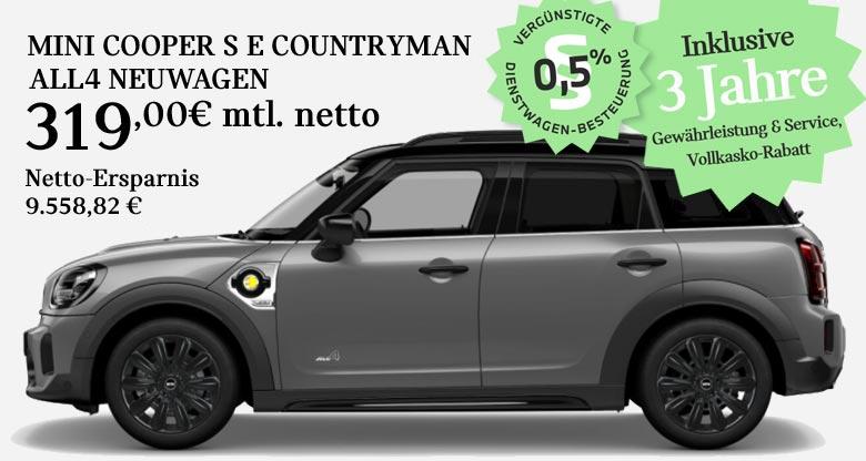 MINI Cooper Countryman S E All4 Angebot für Gewerbekunden von Märtin