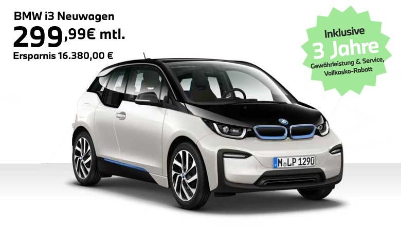 BMW Elektroauto Angebot i3 von Autohaus Märtin