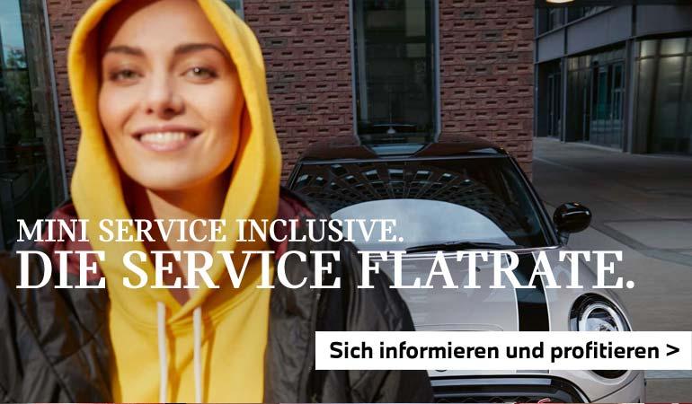 Die Service Flatrate von MINI