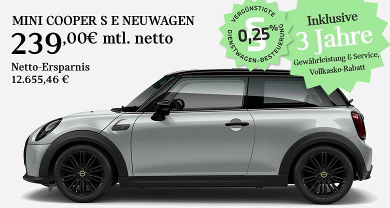 MINI Cooper S E Angebot für Gewerbekunden von Märtin
