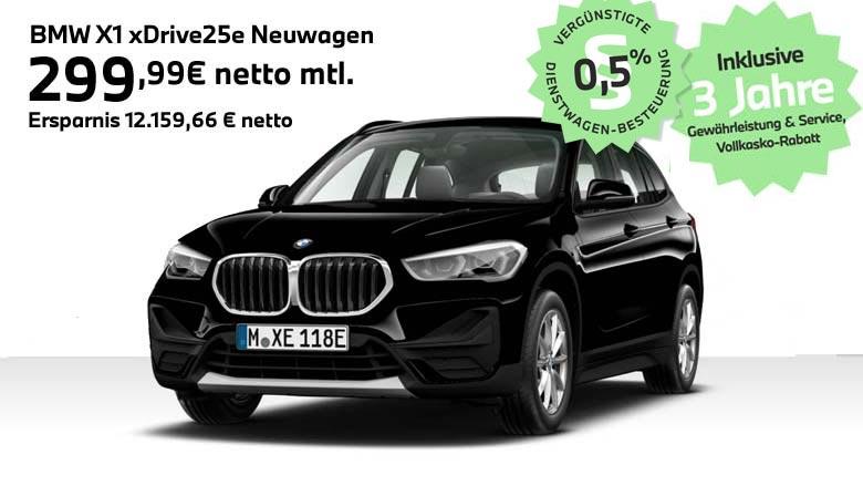 BMW X1 xDrive25e Angebot für Gewerbekunden von Autohaus Märtin