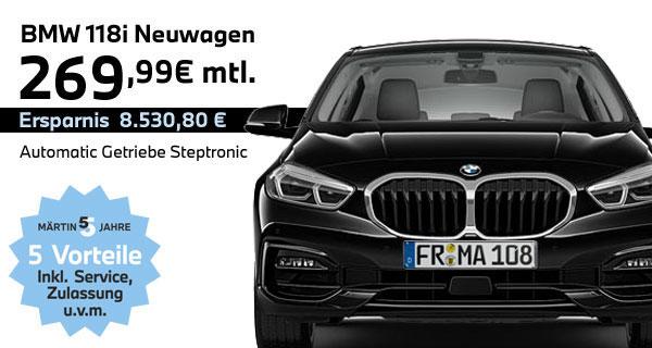BMW X2 sDrive18i Leasing bei Märtin