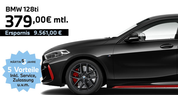 BMW 128ti Leasing bei Märtin