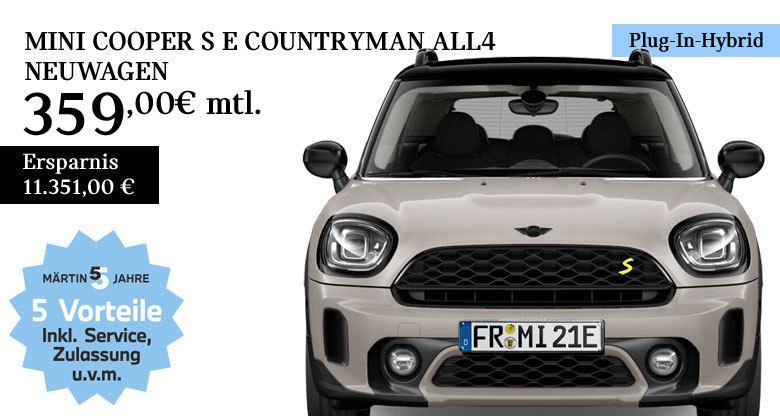 MINI Cooper Countryman S E All4 Neuwagen von Märtin