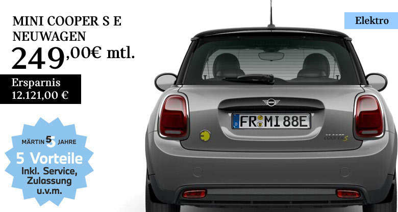 MINI Cooper SE Neuwagen bei Märtin