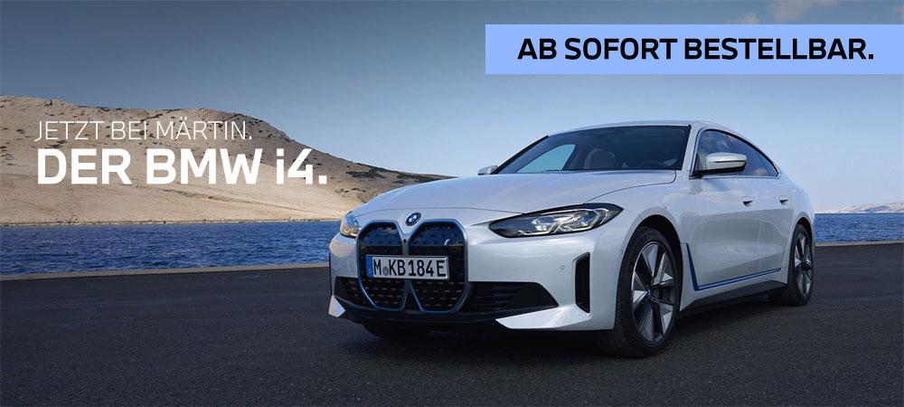 Der neue BMW i4 jetzt bei Märtin bestellbar