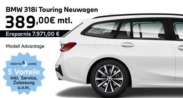BMW 318i Touring Leasing bei Märtin