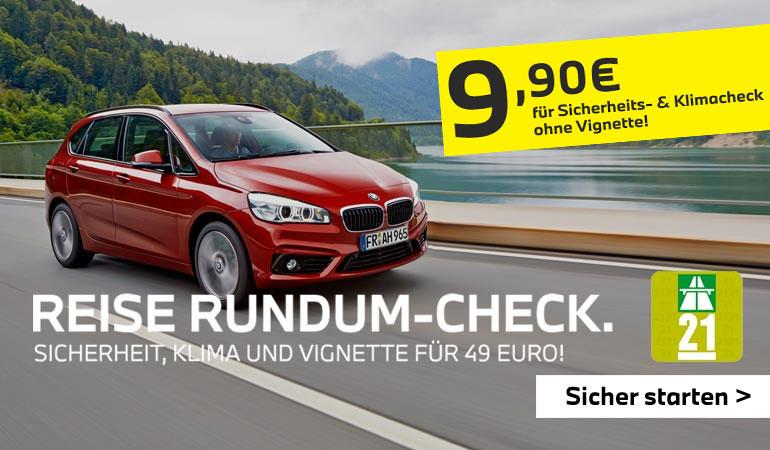 Märtin Reise-Check, schweizer Autobahn-Vignette inklusive